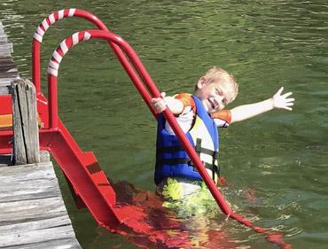 WetSteps Alabama Dock Ladder