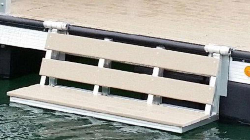 Dock Water Bench