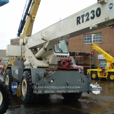 Terex RT230 Terex RT230 Long term and short term rental or sales available for Chicago and North America.. Purchase new or used Terex RT cranes at Crane & Machinery