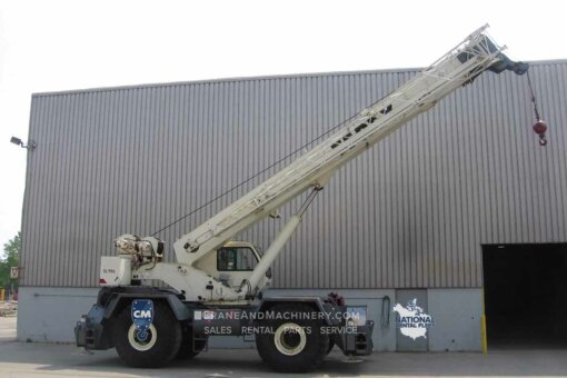 Terex RT 665 Terex RT Crane rentals for Chicago, and North America. Long term and short term rentals available. Purchase new or used Terex RT cranes at Crane & Machinery