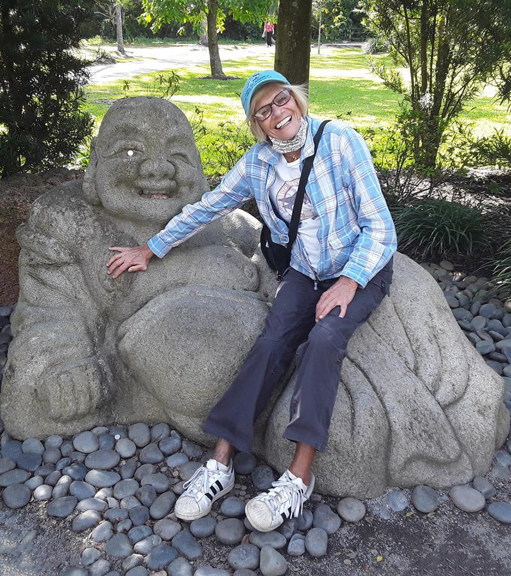 franne and buddha