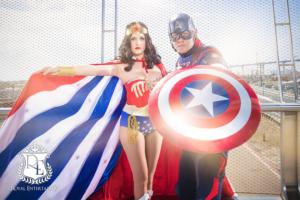 captain America Wonder Woman