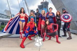 spider-man batman Wonder Woman superman