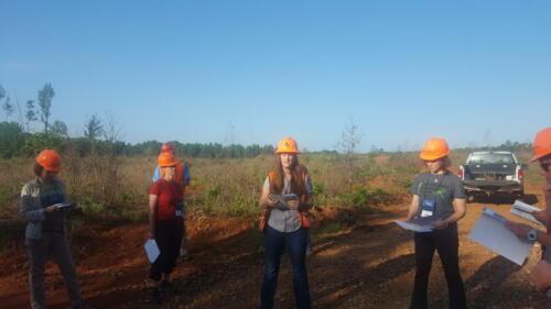 TCW 2018Reforestation Site