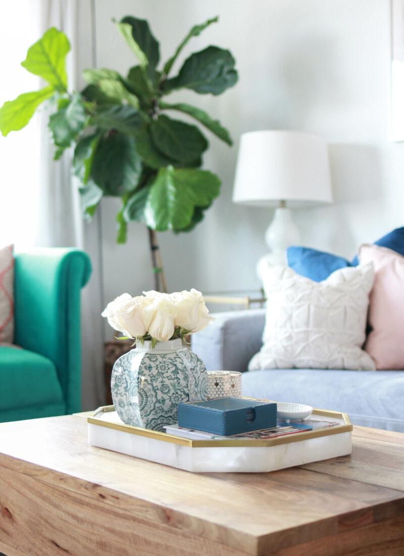 Apartment Living Room Home Tour   amberpizante.com