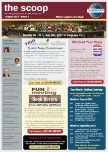 August 2017 -D65 Newsletter cover