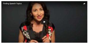 Speech Topic Video