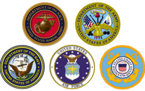 US Military 5 branches