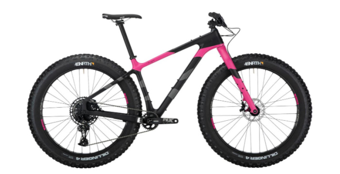Salsa Beargrease Carbon NX Eagle - 27.5 Black/Pink - SM Image