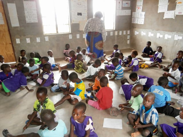 Determined to Develop builds a new nursery school 4