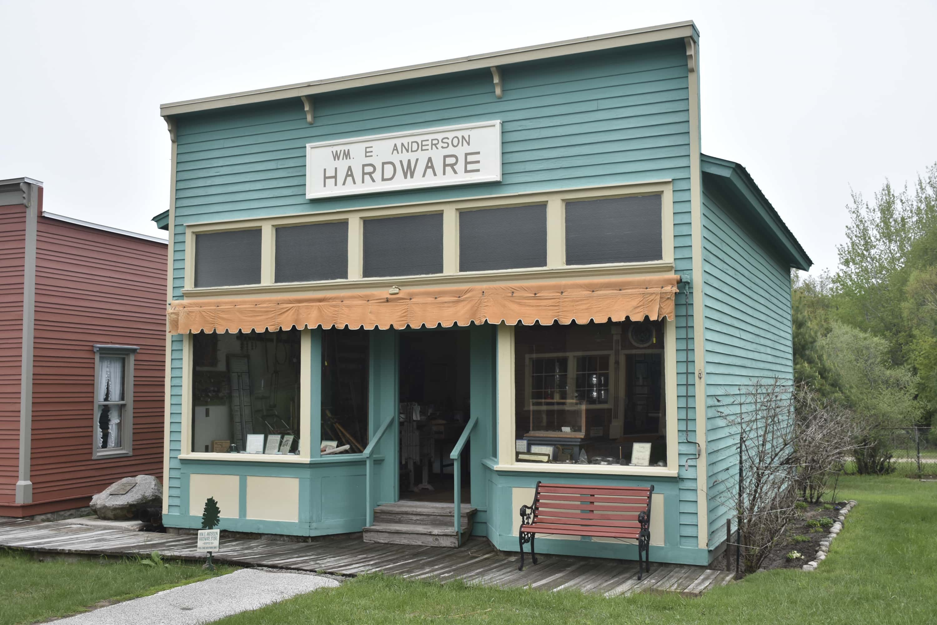 William Anderson Sr. Hardware Store
