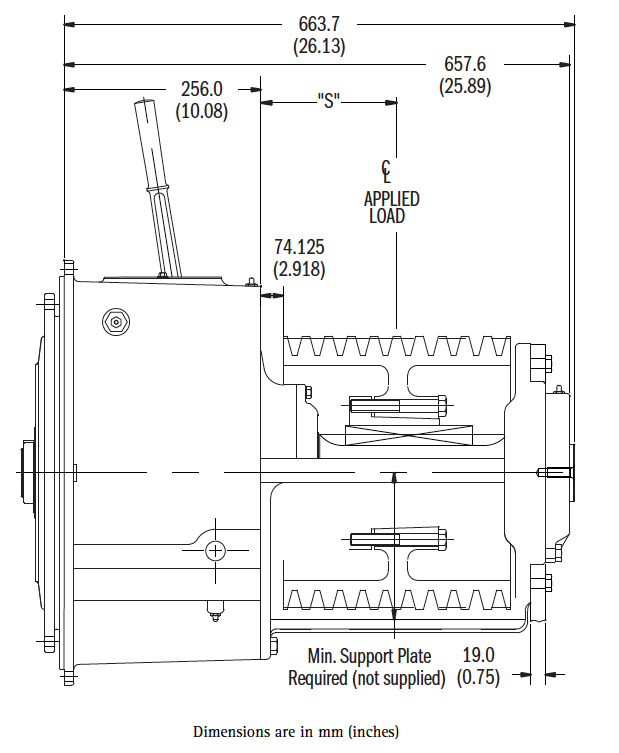 SP314S Dimensions