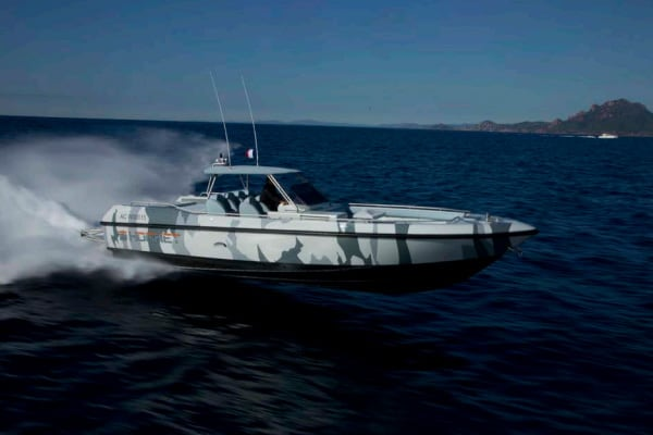 "COUACH ""HORNET 1300"" SUPERYACHT TENDER"