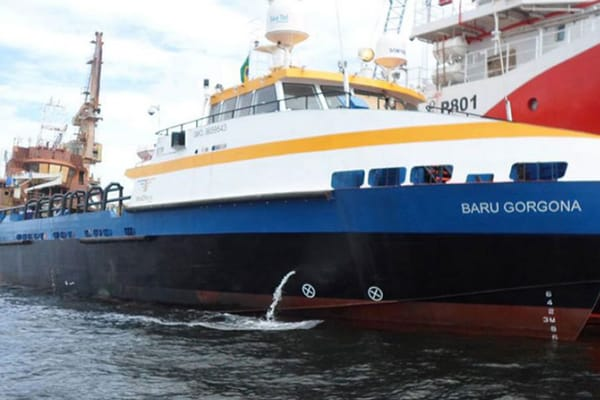FAST SUPPLY VESSEL BARU GORGONA