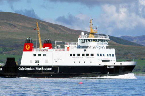 """DOUBLE-ENDED FERRY """"BUTE"""""""