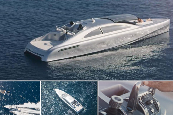 """SILVER ARROW 460"" MERCEDES MOTOR YACHT"