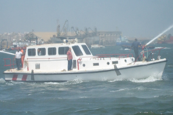 FIREFIGHTING PILOT BOAT
