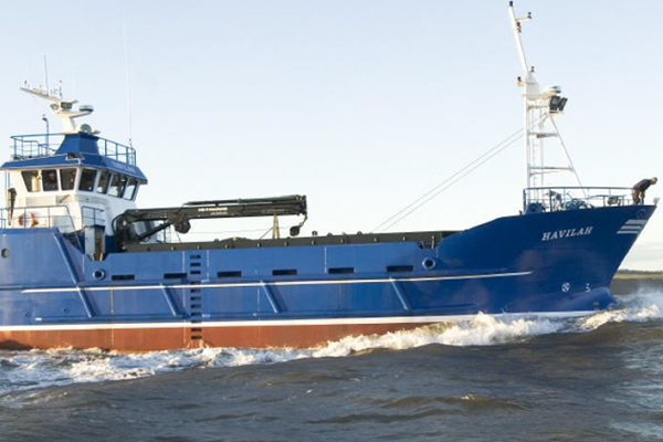 "SALMON FEED CARRIER ""MV HAVILAH"""