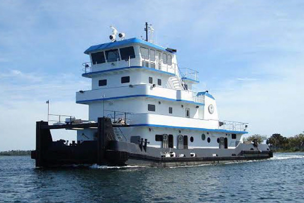 """90' INLAND TOWBOAT """"LAWRENCE CAMPBELL"""""""