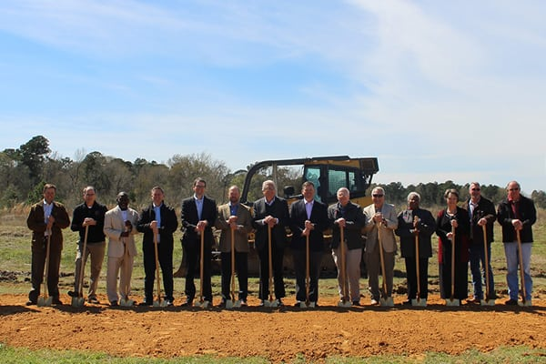 Twin Disc Breaks Ground on New Operations Facility in Texas