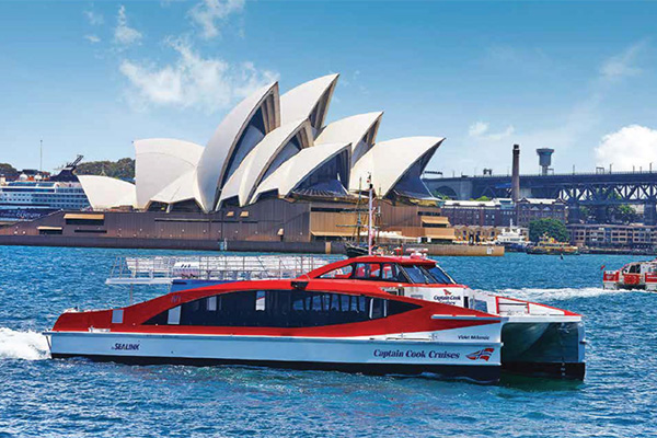 Captain Cook Cruises Australia