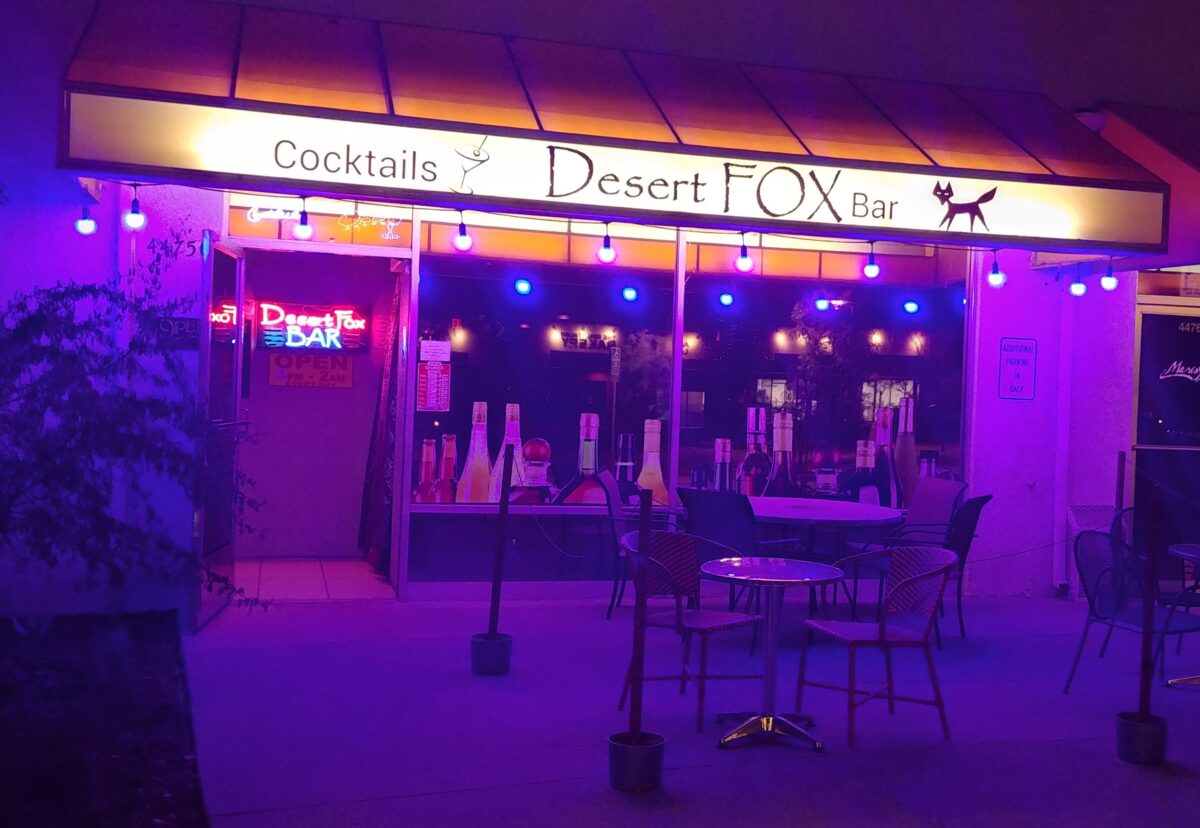 Desert Fox Bar Palm Desert Live Music Lounge