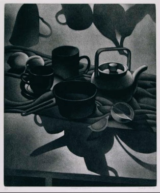 William Behnken - Aquatint - Shadows & Substance