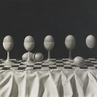 Chris Van Allsburg - Print - Eggs