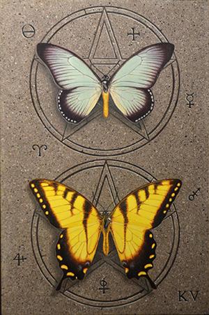 Kelley Vandiver - Watercolor - Butterflies 1