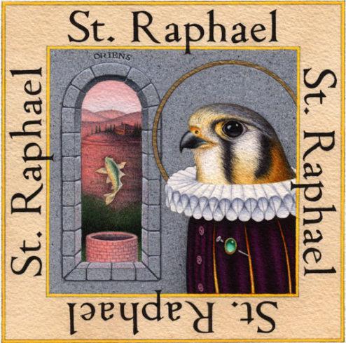 Kelley Vandiver - Watercolor - Raphael