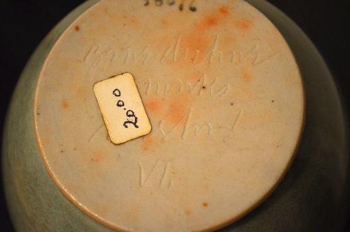 Brother Thomas - Ceramics - Celadon Vase bottom