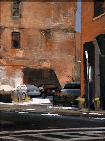 Andrew Haines - Oil Painting - Spring Snow