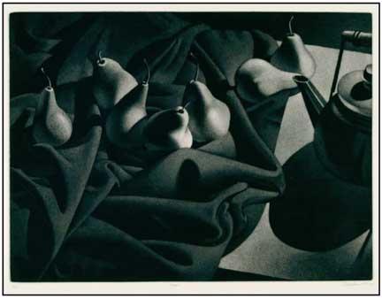 William Behnken-Aquatint-Pears