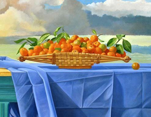 Edgar Soberón - Oil painting - The Gift
