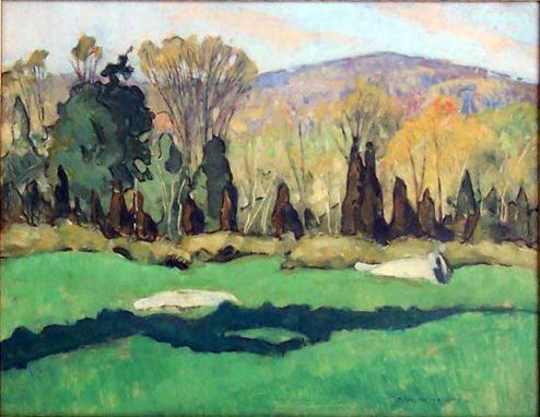 J H Wheater - Autumn Landscape