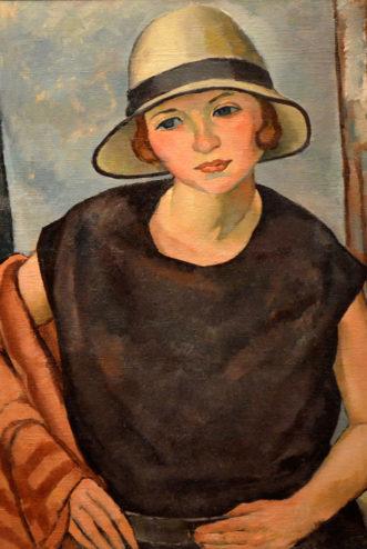 Wilson - Oil - Untitled Portrait of a Woman