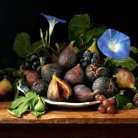Paulette Tavormina - Figs and Morning Glories, after G.G.