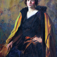 Watson - Oil painting - Portrait of Madame Marie Conde