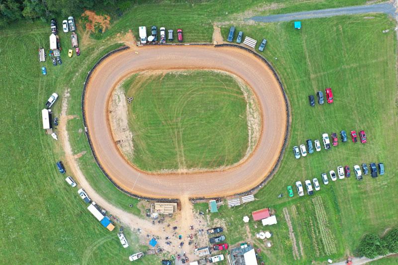 Speedway Aerial View