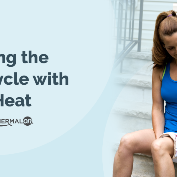 Thermalon blog July break pain cycle with moist heat