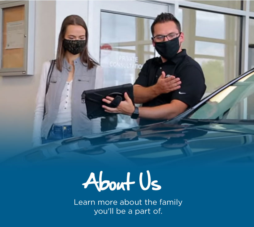 About Us - Learn more about the family you'll be part of.