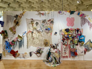 Finding My Light installation at the Marjorie Barrick Museum of Art, UNLV
