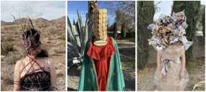 Left: Desert Bonding, Middle: Guadalupanas, Right: Mess Inside