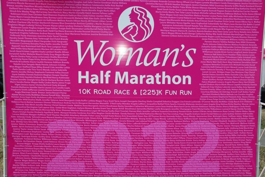 Womens Hospital Baton Rouge Runners Board-1