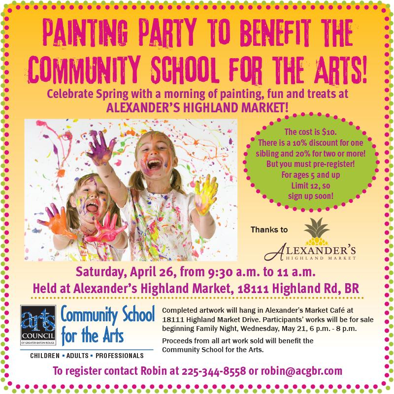 14 april Alex paint party CSA