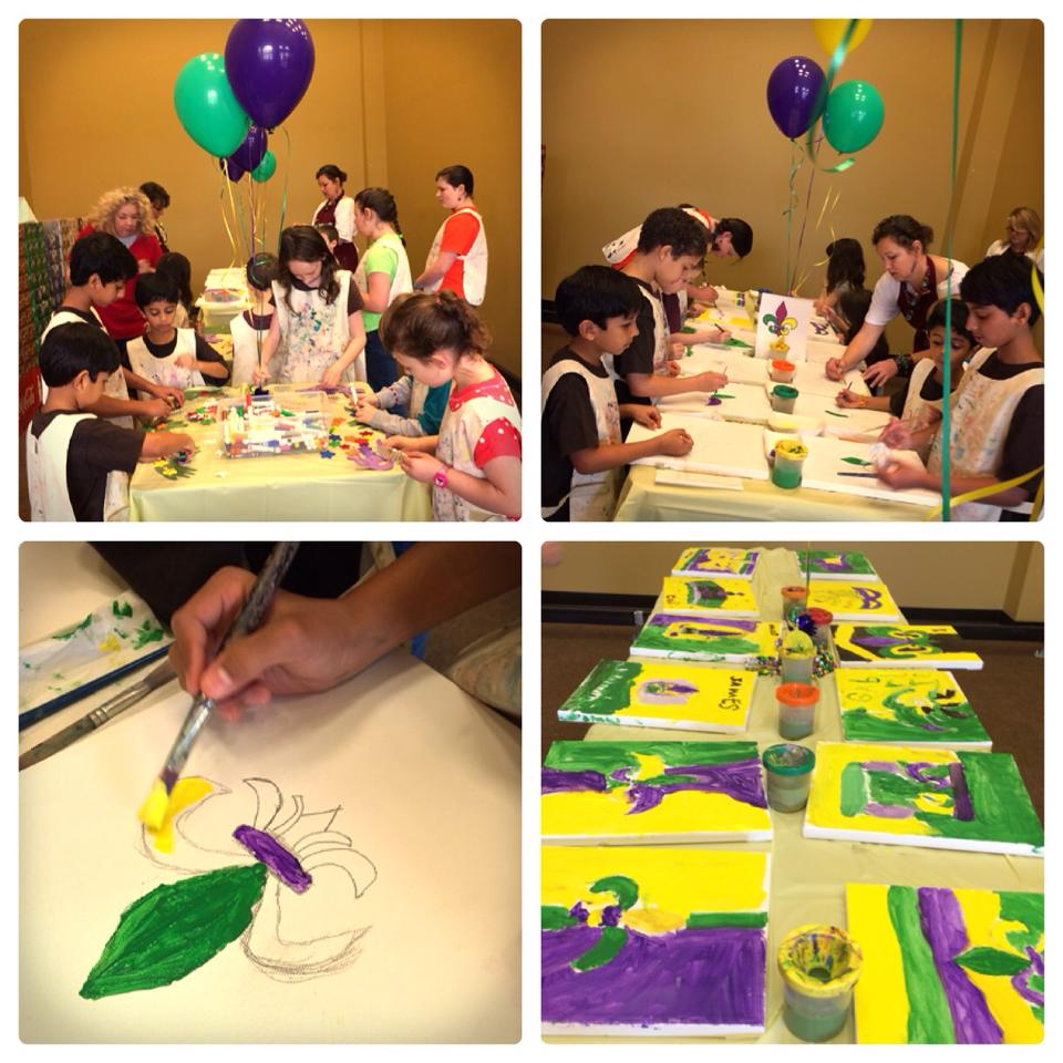 Painting Party with the Arts Council of Greater Baton Rouge