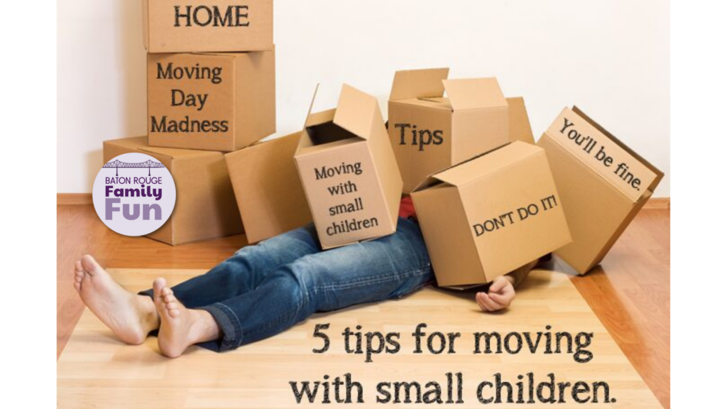 Moving with small children