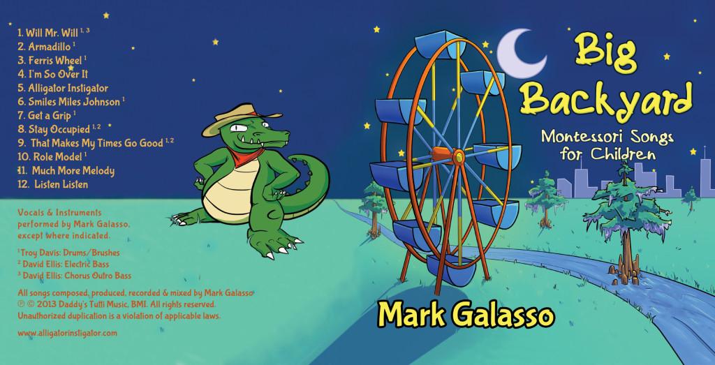 Big Backyard Montessori Songs for Children