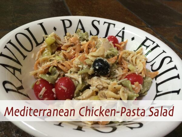 Mediterranean Chicken-Pasta Salad