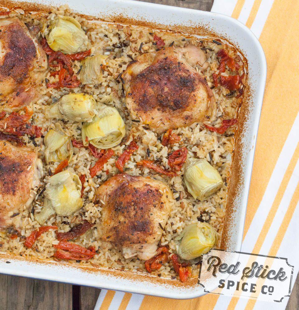 mediterranean-chicken-bake-recipe